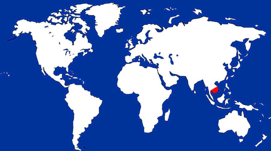 Pygmy Loris Map